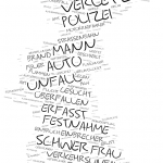 Lichtenberg - Wordcloud Polizeimeldungen