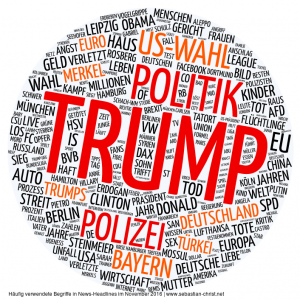 Donald Trump in deutschen Medien: We were medially TRUMPED!