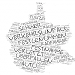 Reinickendorf - Wordcloud Polizeimeldungen